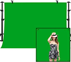 MME 10x7ft Green Photo Video Photography Background Studio Non-Woven Fabric Backdrop Screen PURME009