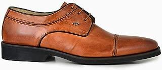 2046-246 EXTRL-Antik Safran 203 Nevzat Onay Bağcıklı Safran Rengi Günlük Deri Erkek Ayakkabı