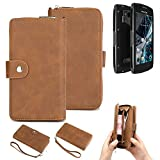 K-S-Trade® 2in1 Mobile Phone Wallet Case For Archos Sense