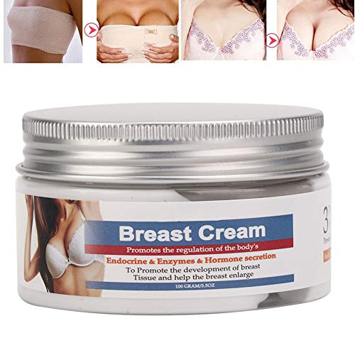 BREAST Push Up Creme, Brustvergrößerungscreme, 100g Natürliche Brustvergrößerung, Brust Straffende Büste Vergrößerung Lifting Creme Hautpflegeergänzung für Schönheit Körperform