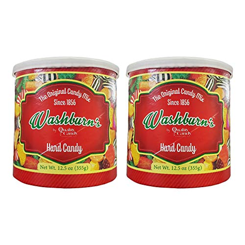 Washburn's Hard Candy (2 Pack, Total of 25oz)