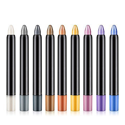 Delineador para ojos, lápiz resaltador cosmético con brillo y sombra, de la marca Little Finger.