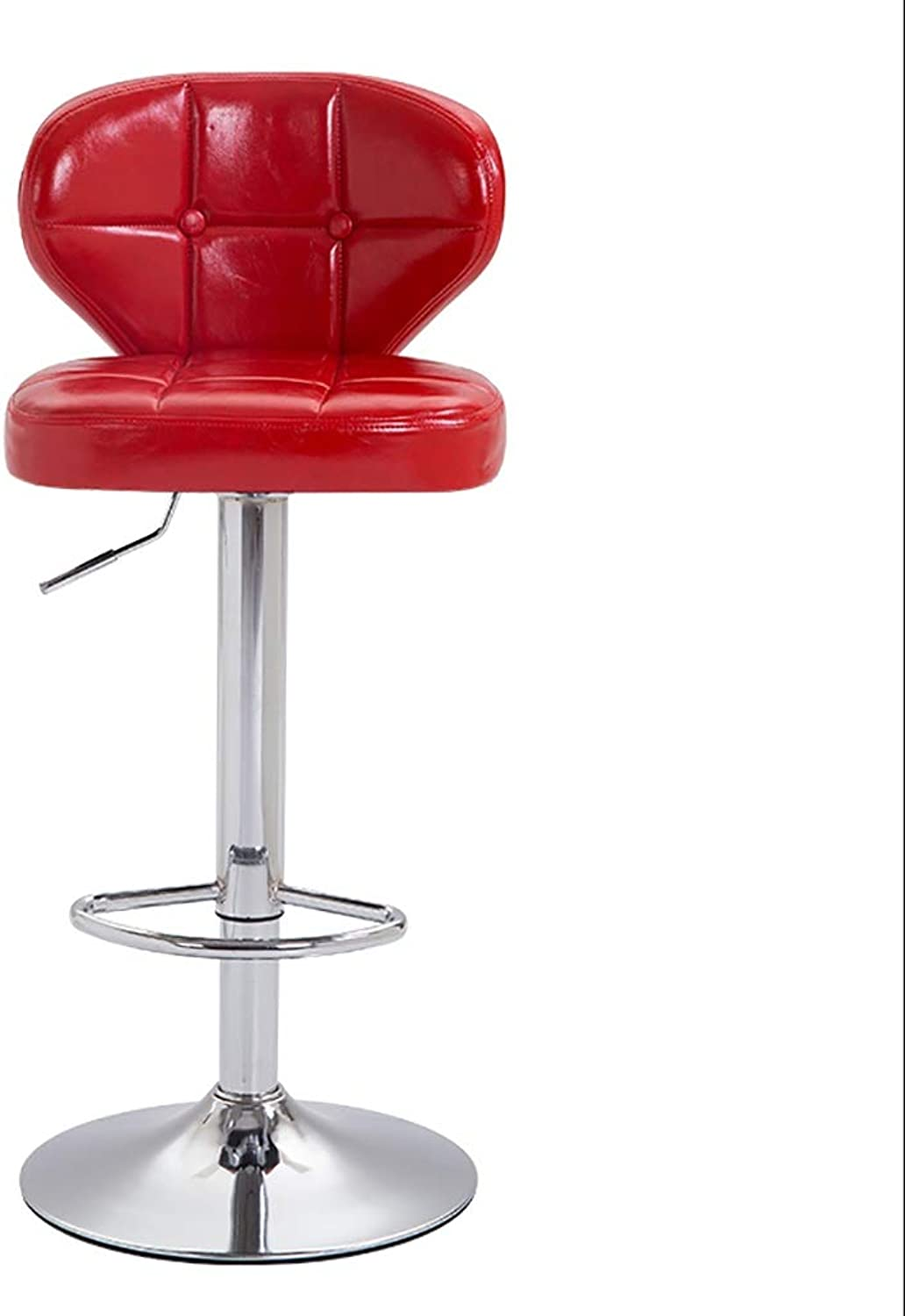 Xiao Mi Guo Ji- Bar Stool - 360° redating Lift, high Stool redating Beauty Salon Table and Chair 4 colors Bar Stool (color   B)