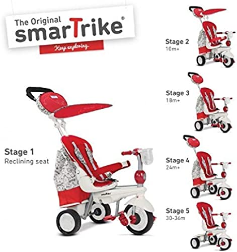 GIOCHERIA Dreirad Smart Trike Splash rot