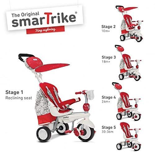 GIOCHERIA driewieler Smart Trike Splash Red