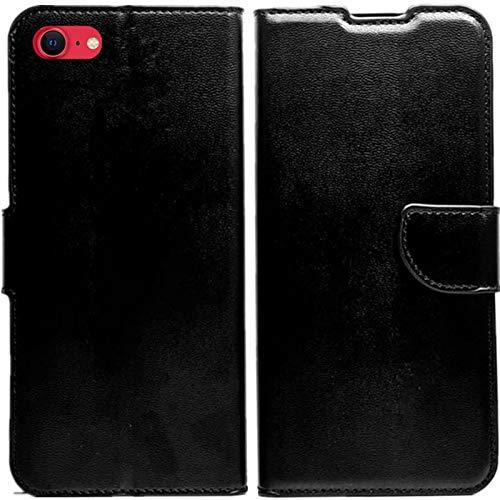KEJI Cover Custodia per iPhone SE 2020/iPhone 7/8, Cover Custodiaa Libro in Pelle Portafoglio con Supporto Flip Caso Supporto Stand Chiusura Magnetica iPhone SE 2020/iPhone 7/8, Elegante