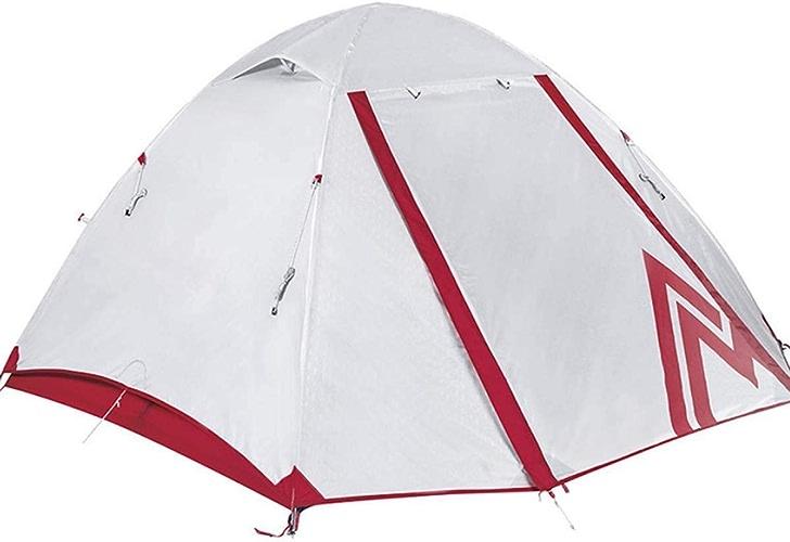 Jkl000-tent Tente de Camping en Plein Air 3-4 Personnes Ultralight Portable écran Solaire Instantané Instantané étanche Camping Tourisme Plage Vacances Pique-Nique Parc Pelouse Blanc