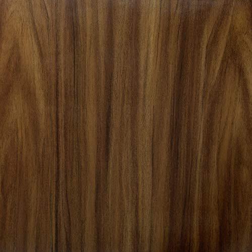 Venilia Klebefolie Nuss Holzoptikfolie, Dekofolie, Möbelfolie, Tapete, selbstklebende Folie, PVC, ohne Phthalate, 45cm x 1,5m, 53405, 45 cm x 1,5 m