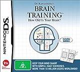 Dr Kawashima's Brain Training: How Old Is Your Brain (Nintendo DS) [Importación inglesa]