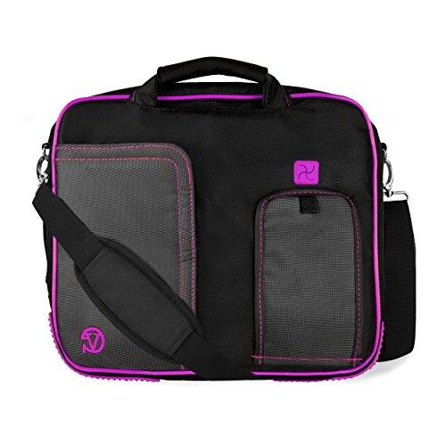 VanGoddy Pindar Plum Purple Messenger Bag for Acer Aspire Series/One 10 / CloudBook/ChromeBook/Iconia 10'-11.6inch
