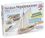 Artesanía Latina 18010. Maqueta de Barco en Madera. Lancha Nepomuceno...