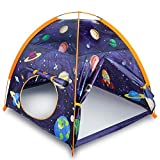 "MountRhino Space World Play Tent Playhouse, 48""x48""x42"" Indoor Outdoor Astronaut Space Toddler Kids Tent , Kids Galaxy Dome Tent for Boys and Girls Camping Playground ,Perfect Kid's Gift"