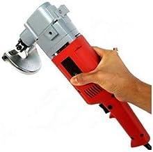 Cortador de corte de metal eléctrico de 750 W de alta resistencia, cortador de tijeras de acero inoxidable
