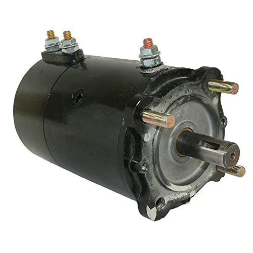 db electrical lrw0015 winch motor for ramsey braden hickey desert tulsa  camindustries pierce/ 12 volt 2100 rpm reversible 4 8 hp double ball  bearing,