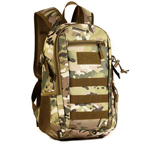 12L Mini Daypack Military MOLLE Tactical Backpack Assault Rucksack School Bag