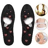 SANCUANYI Semelles magnétiques, semelles de chaussures d'acupression d'aimant Santé Semelles de massage de thérapie magnétique chaussures pour des hommes Les femmes Soulagement de la douleur