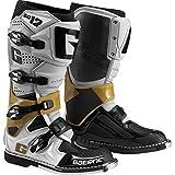 Gaerne SG-12 Botas de motocross para hombre (gris/magnesio/blanco) (talla para hombre 8)