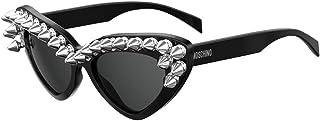 Moschino MOS030/S BLACK/DARK GREY women Sunglasses