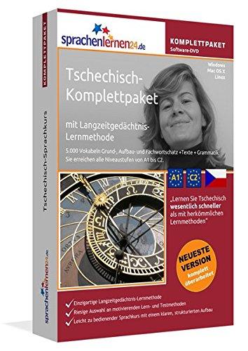 Preisvergleich Produktbild Tschechisch-Komplettpaket: Lernstufen A1 bis C2. Fließend Tschechisch lernen mit der Langzeitgedächtnis-Lernmethode. Sprachkurs-Software auf DVD für Windows / Linux / Mac OS X