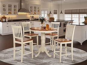 5 Pc counter height Dining set-high Table and 4 Kitchen Chairs