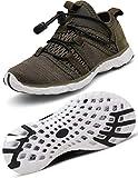 Gaatpot Escarpines Zapatos Niño Niña Zapatillas Baño Deportivas de Agua Playa Piscina Calzado de Atletismo Sandalia de Verano Verde 24 EU = 25 CN