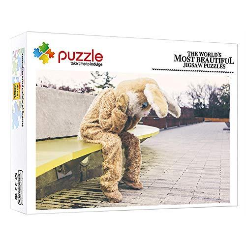 FFGHH Jigsaw Puzzle 1000 Piezas Personaje Puzzles Mini Puzzle Bebe Adultos Amigo Niños 14.96In X 10.23In