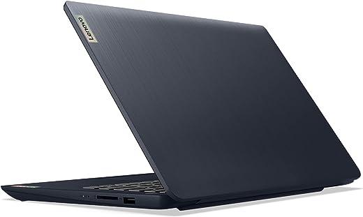 "Lenovo IdeaPad 3 14 14.0"" Laptop, 14.0"" FHD (1920 x 1080) Display, AMD Ryzen 5 5500U Processor, 8GB DDR4 RAM, 256GB NVMe TLC SSD Storage, AMD Radeon 7 Graphics, Windows 10 Home, 82KT00AMUS, Abyss Blue"
