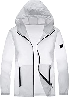 Summer ultra-thin breathable jacket, sunscreen clothing, hooded outdoor men's jacket
