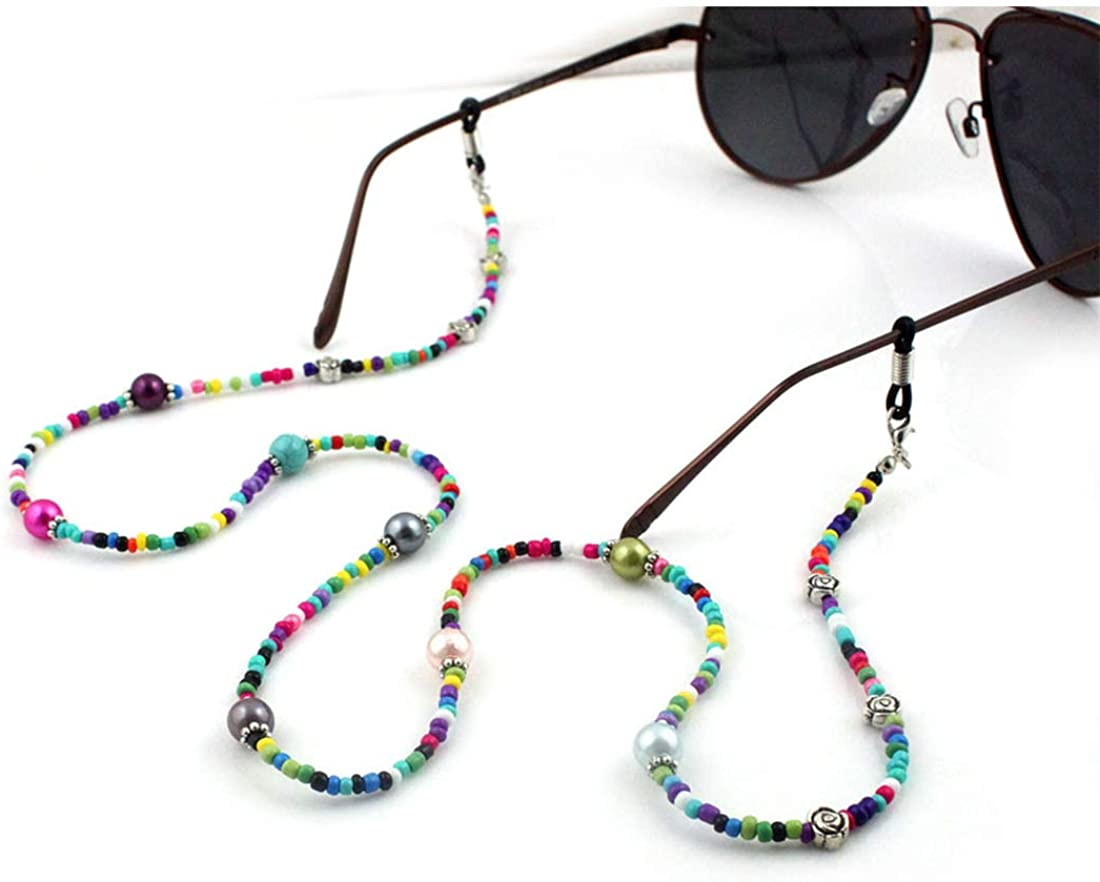 BoAn Multifunction Colorful High quality new Beaded Max 68% OFF Str Lanyard Glasses Mask
