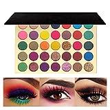 FindinBeauty 35 Colors Pro Eyeshadow Golden Palette Multi Reflective Shimmer Matte Pressed Glitter Natural Pallet
