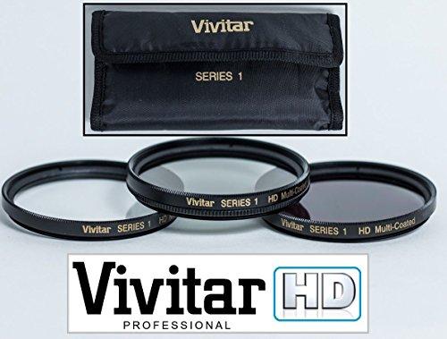 UV Polarizer & FLD Filter Kit (3-Pc Hi Def) for Panasonic Lumix DMC-FZ300