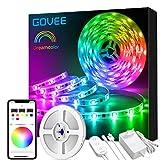 Govee Dreamcolor LED Strip, 5m Wasserdicht LED Streifen Sync mit Musik, Licht Band Farbwechsel...