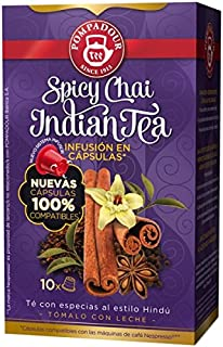 POMPADOUR TEA (Nespresso Original line compatible) - Spicy Chai - 40 count / capsules