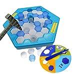 Brigamo ❆ Pinguine Eiswürfel Spiel, Geschicklichkeitsspiel für Kinder ab 3 Jahre