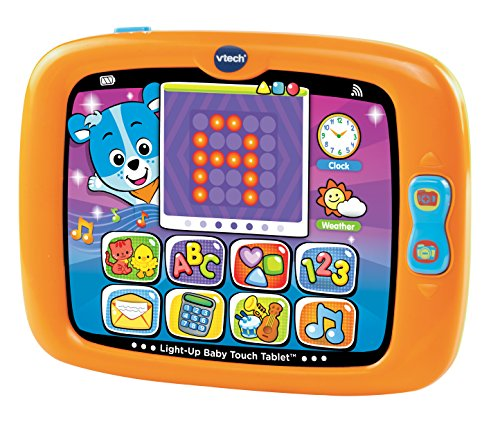 Our #1 Pick is the VTech Light-Up Baby Touch Tablet