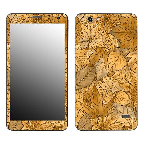 Disagu SF-106890_1188 Design Folie für Touchlet SX7 Slim - Motiv Herbstblätter_Sepia klar