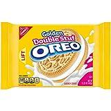 Oreo Golden Double Stuf Sandwich Cookies, 15.25 oz