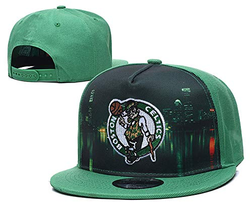 Basketball Embroidered Snapback Sports Hat Fashion Cap for Mens Women Teens Child Boston Celtics(5)