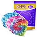 KN95 Face Mask 30 PCS - Tie-dye - Filter Efficiency?95%, 5-Ply Breathable & Comfortable Safety Mask, Protection Dust Cup Dust Mask Against PM2.5, Dust Cup Dust Mask by CHENGDE TECHNOLOGY CO.,LTD.