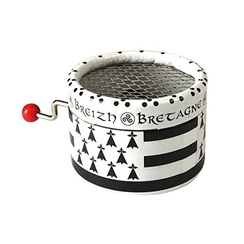 Caja de música con manivela (100% cartón Bandera Breton la Valse de Amélie