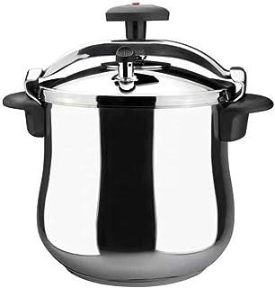 MAGEFESA Star Bombeada Pressure Cooker, Silver - 8 Liters