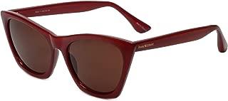 Isaac Mizrahi Designer Sunglasses IM24-71 in Brick with Brown Lenses