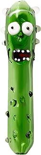 Glass Art Tube 4.4-inch Cucumber Design Tube