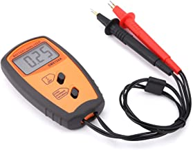 Practical Easy Operation Resistance Voltmeter, Easy Reading Battery Voltage Tester, Automobiles for Testing