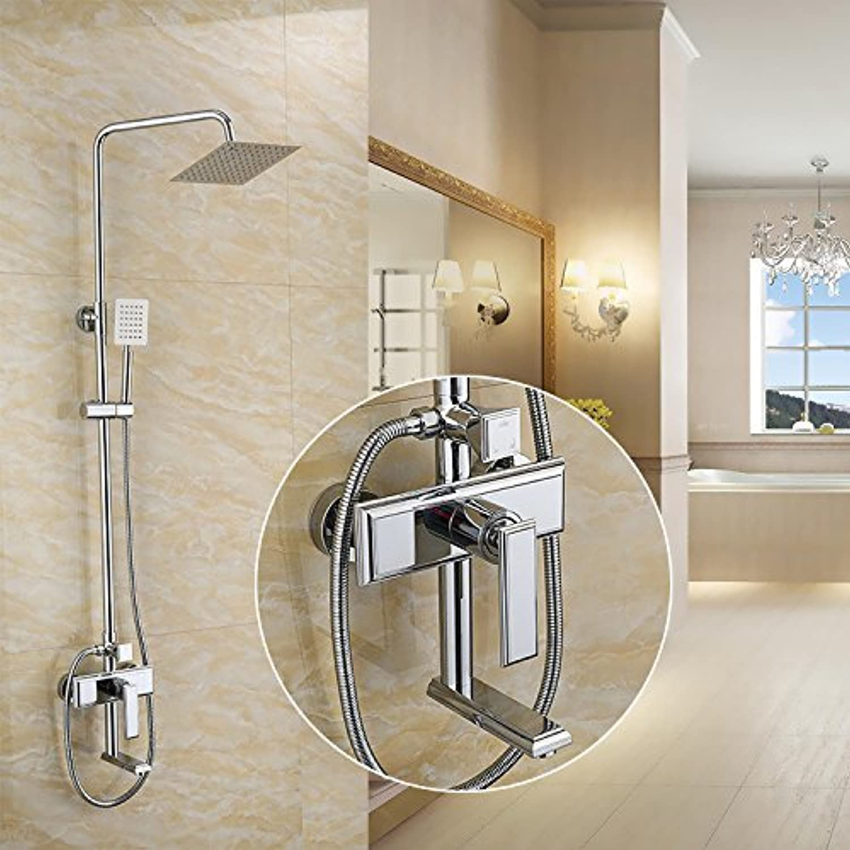 Shower shower set copper shower shower faucet