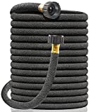 """Soaker Hose for Garden, 1/2"""" x 100FT Drip Irrigation Short Hose Water Save 70% , Heavy Duty Water Hose for Soaker, Efficiently and Intelligently Distribute Water Evenly to Yards and Garden Flower Beds"""