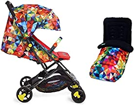 Cosatto Woosh 2 Stroller Dragon Kingdom with Footmuff Change Bag raincover and Bumper bar Birth to 25kg