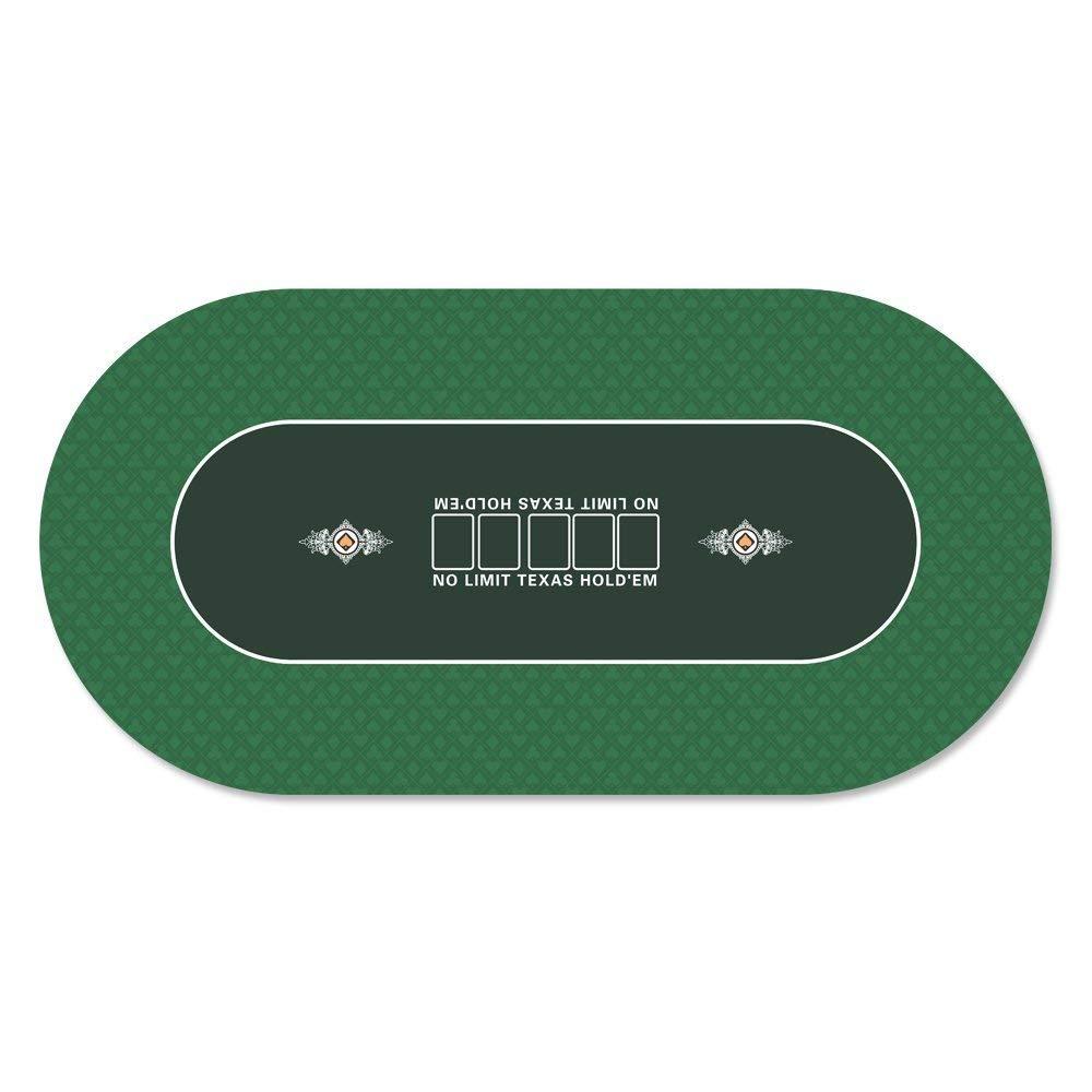GAMELAND Portable Rubber Poker Layout