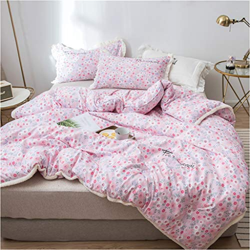 Style Double Winter Quilt Household Bedroom Keep Warm Thicken Bedding Individual Student Dorm Room Core Multifunction (Color : E, Size : 150X200cm(2.5kg))