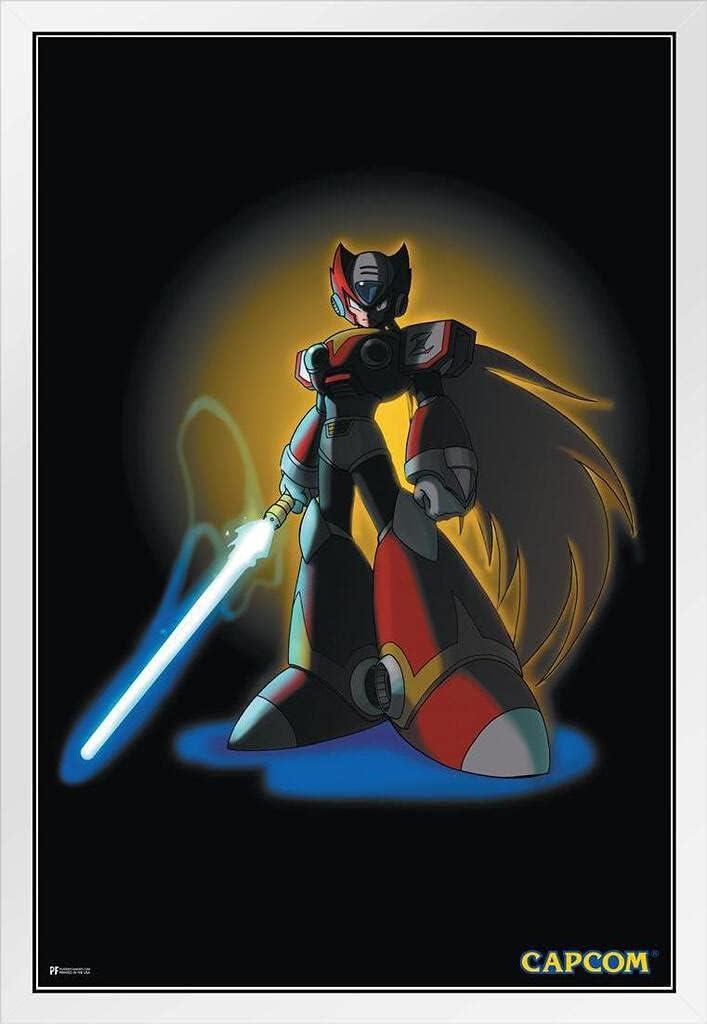 Mega Man Zero Blade Video Superior Game Gamer Vintage Retro Popular brand Classic